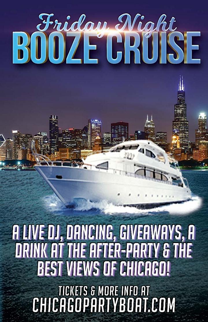 CANCELED - Friday Night Booze Cruise on August 21st image
