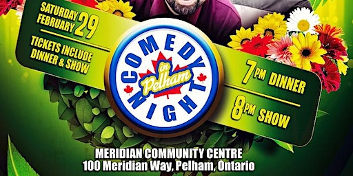 Comedy Night in Pelham - Dinner and a Show!
