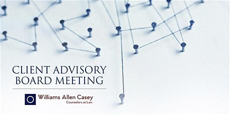 Client Advisory Board Meeting tickets