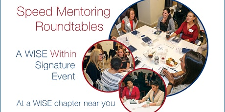 WISE DC Speed Mentoring Roundtables tickets