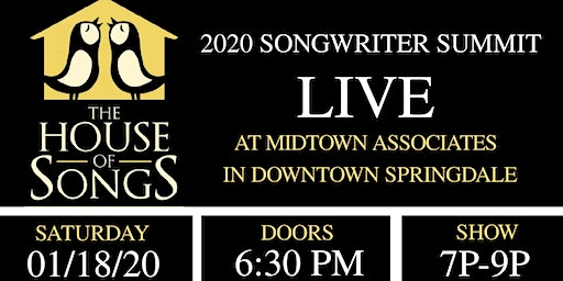 2020 Songwriter Summit LIVE in Downtown Springdale