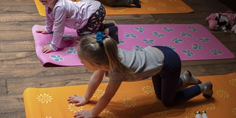 kids Yoga 3-5 Years Old tickets