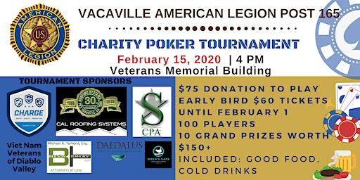 Vacaville American Legion Poker Tournament 2020