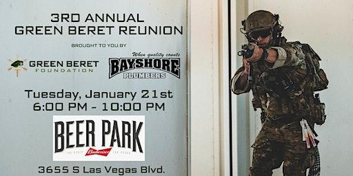 3rd Annual Green Beret Reunion
