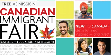 Metro Vancouver Canadian Immigrant Fair tickets