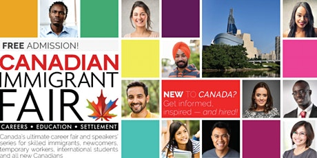 Winnipeg Canadian Immigrant Fair tickets