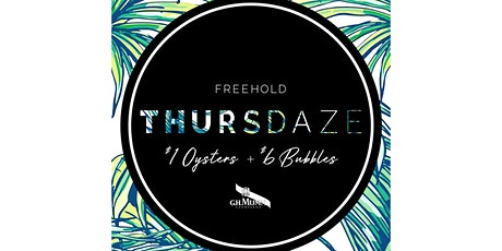 Copy of Thursdaze: $1 Oysters & $6 glasses of Champagne tickets