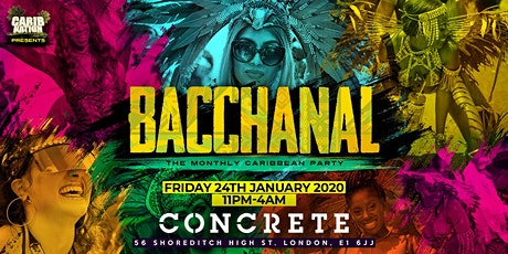 Bacchanal: The Monthly Caribbean Party! tickets
