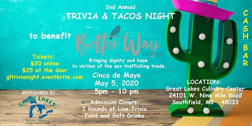 2nd Annual Trivia & Tacos Night