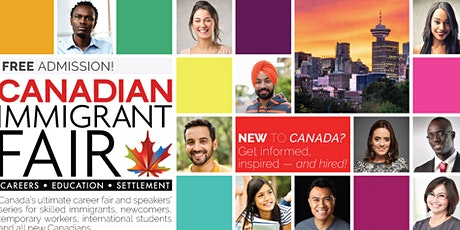 Vancouver Canadian Immigrant Fair tickets