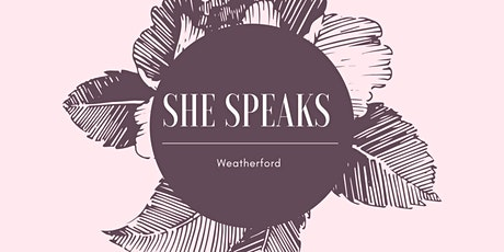 She Speaks Weatherford Women's Conference tickets