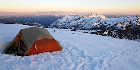 Snow Camping 101 w/ Cascade Mountain Adventures! tickets