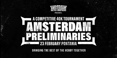 The Amsterdam Preliminaries round 1 billets