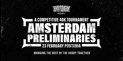 The Amsterdam Preliminaries round 1
