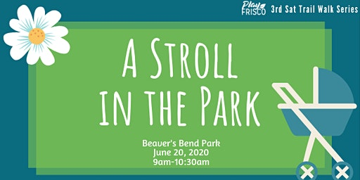 3rd Sat Trail Walk: A Stroll in the Park