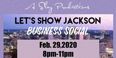 Let's Show Jackson Business Social tickets