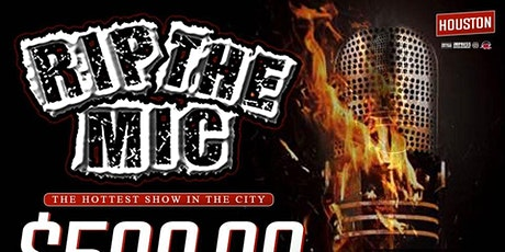 RIP THE MIC LIVE $500 BEST SINGLE COMPETITION @ CLUB ADORE (HOUSTON, TX) tickets
