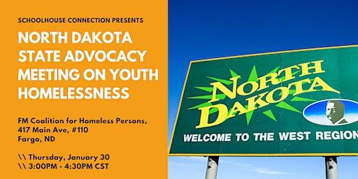 North Dakota State Advocacy Meeting on Youth Homelessness - Fargo