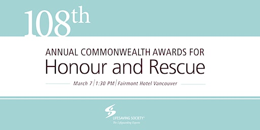 108th Annual Commonwealth Honour and Rescue Awards Ceremony