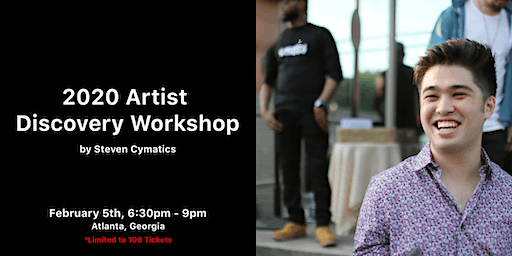 Artist  Discovery Workshop with Steven Cymatics