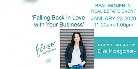 "Falling Back in Love with Your Business"" with Elise Montgomery tickets"