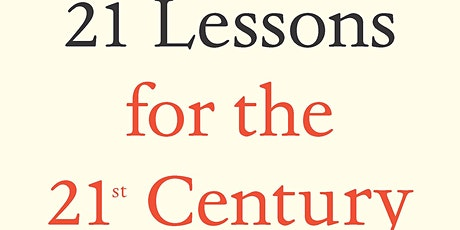 Manny's Book Club: 21 Lessons for the 21st Century by Yuval Noah Harari tickets