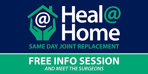 Same Day Total Joint Replacement - FREE Info Session / Meet the Surgeons