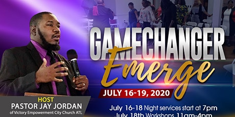 Gamechanger: Emerge 2020 tickets
