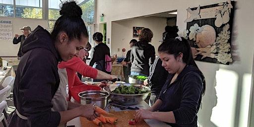 January Community Kitchen Dinner at Rainier Beach Urban Farm & Wetlands