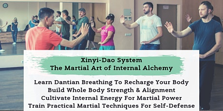 Xinyi-Dao Internal Alchemy Meditation & Martial Arts Class tickets