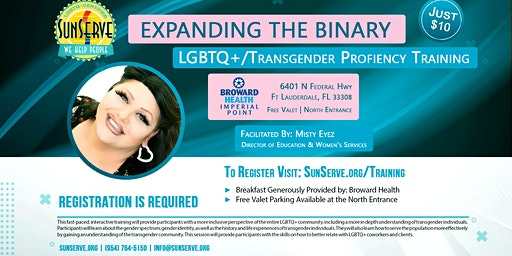 SunServe LGBTQ+/Transgender Proficiency Training
