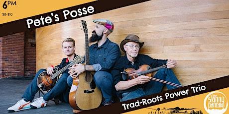 Pete's Posse tickets