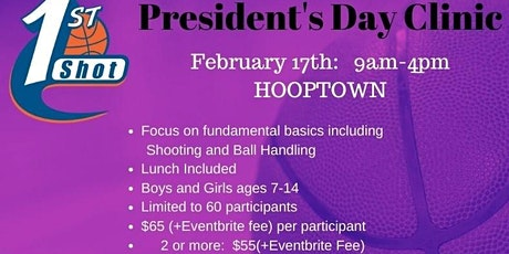 2020 Pres DAY Basketball Camp tickets