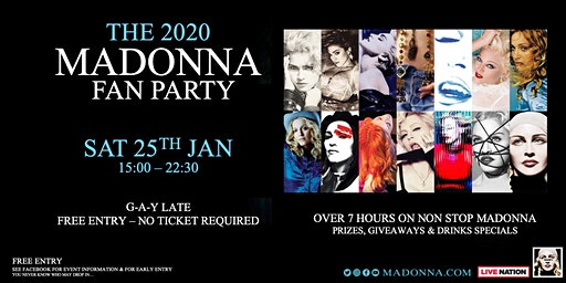 Madonna Fan Party