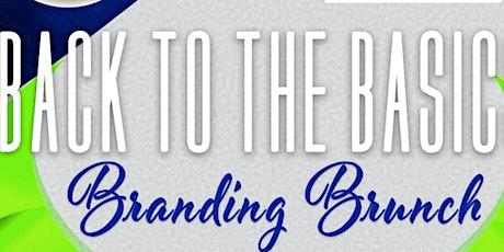 Back to the Basics: Branding Brunch tickets