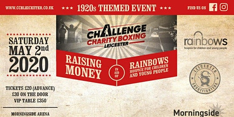 Challenge Charity Boxing Leicester 1920s Fight Night - May 2020 tickets