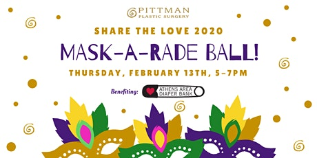 Annual Share The Love Event: MASK-A-RADE Ball tickets