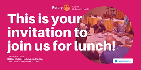 Rotary Lunch | Networking & Speakers tickets