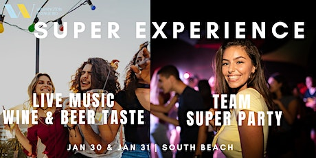 2-DAY SUPER TEAM EXPERIENCE tickets