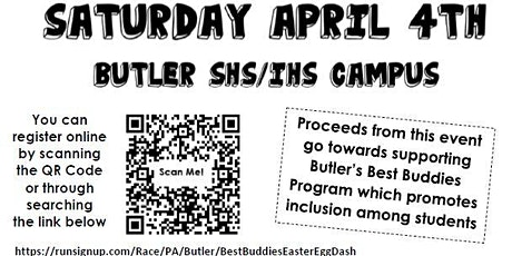 Butler Senior High School's 2nd Annual Eggstravaganza tickets