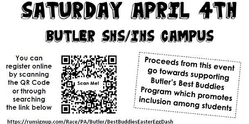 Butler Senior High School's 2nd Annual Eggstravaganza