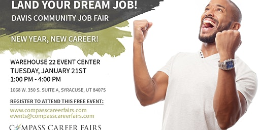 DAVIS COMMUNITY JOB FAIR - Tuesday, January 21, 2020