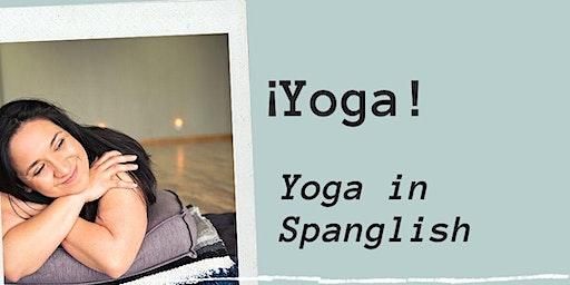 Free Yoga in Spanglish