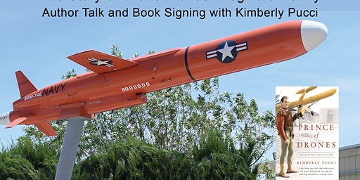 Book signing with Kim Pucci, Prince of Drones