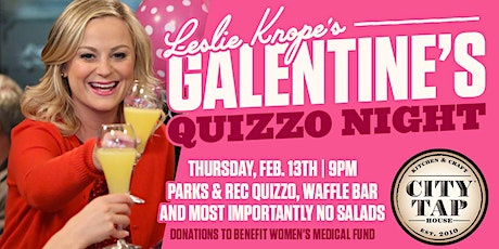 Leslie Knope's Galentines Day Quizzo tickets