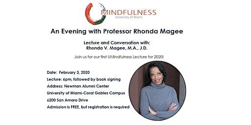 An Evening with Professor Rhonda Magee