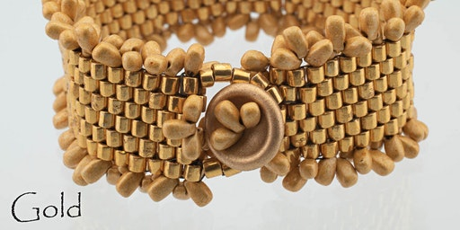 Peyote Basics: A Piece of Cake Bracelet - Jewelry Making