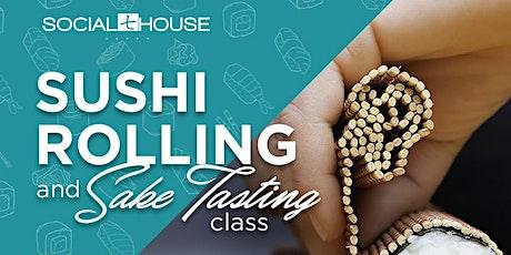 Sushi Rolling & Sake Tasting - February 8 tickets