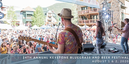 Keystone Bluegrass and Beer Festival - August 1 & 2, 2020: 1PM-5PM Daily