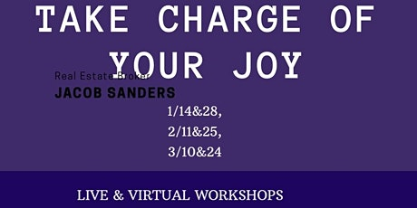 Take Charge of Your Joy Workshops tickets